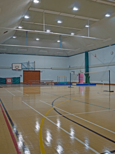 Gang Warily Main Sports Hall